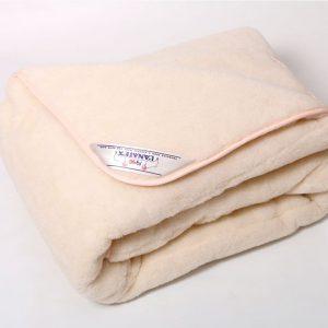 Одеяло меховое из овечьей шерсти меринос - полуторное, двуспальное, евро