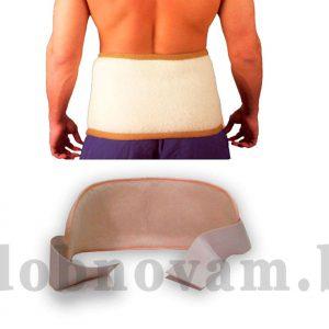 Пояс для спины из шерсти Lanatex