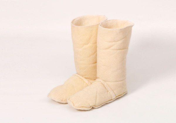 Вставки вкладыши в обувь из овчины