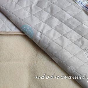 Одеяло шерсть Lanatex мех-хб ткань